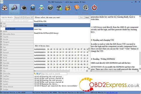 obd terminator full version free update21 600x399 - New FLY OBD Terminator Locksmith Version& Free J2534 Software - New FLY OBD Terminator Locksmith Version& Free J2534 Software