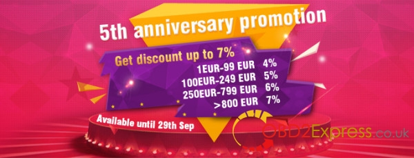 2016 10 obd2xpresscouk five years anniversary 600x229 - Big promotion for 5th anniversary!!!!