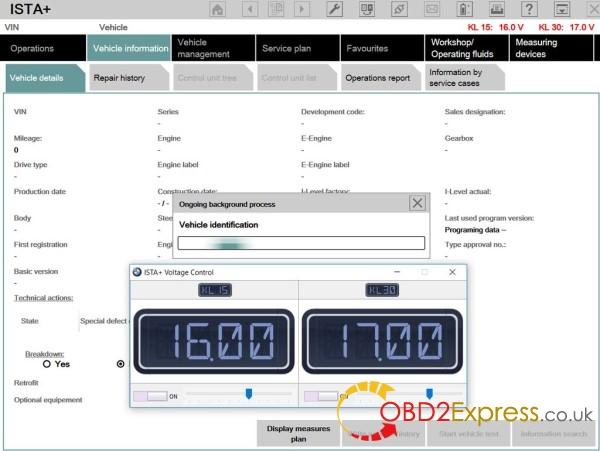 ista voltage control 3 600x451 - Rheingold ISTA+ v4.01.22 Voltage Control (Pictures)
