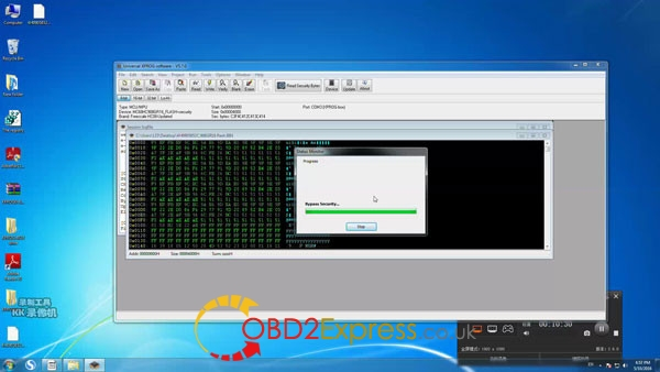 Xprog software v5.7.0 read write mcu 10 600x338 - How to install Xprog-m v5.7.0 software on Windows 7 64bit