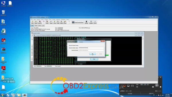 Xprog software v5.7.0 read write mcu 11 600x338 - How to install Xprog-m v5.7.0 software on Windows 7 64bit