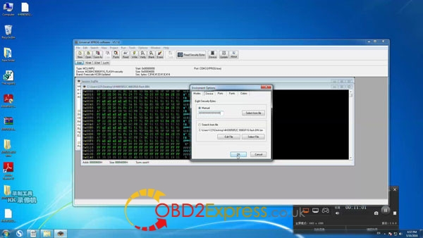 Xprog software v5.7.0 read write mcu 12 600x338 - How to install Xprog-m v5.7.0 software on Windows 7 64bit
