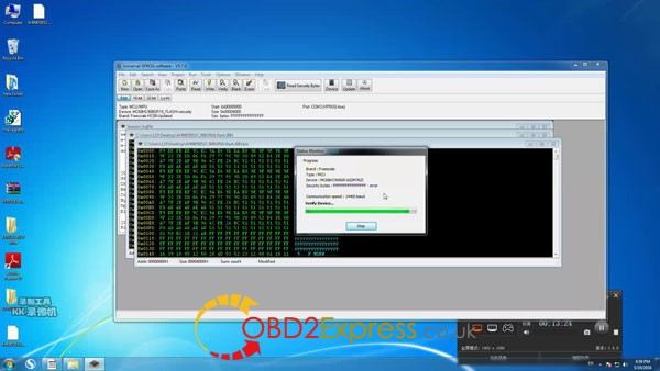 Xprog software v5.7.0 read write mcu 18 600x338 - How to install Xprog-m v5.7.0 software on Windows 7 64bit