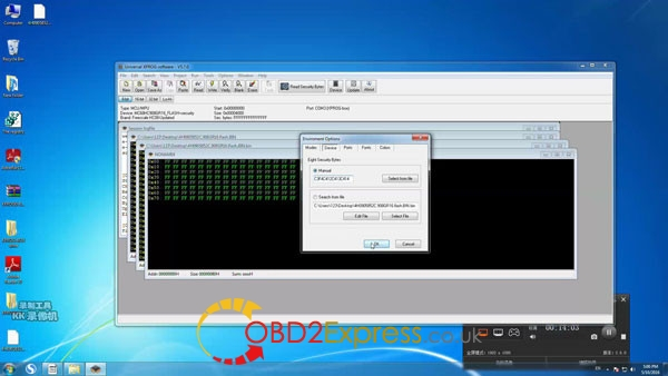 Xprog software v5.7.0 read write mcu 20 600x338 - How to install Xprog-m v5.7.0 software on Windows 7 64bit