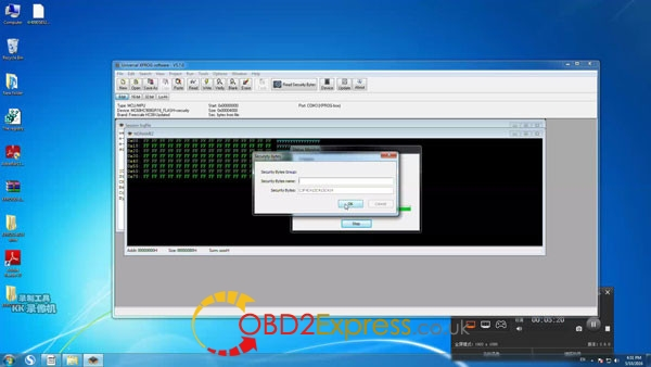 Xprog software v5.7.0 read write mcu 3 600x338 - How to install Xprog-m v5.7.0 software on Windows 7 64bit