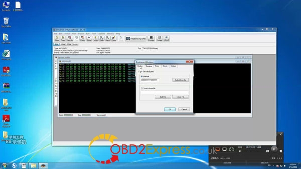Xprog software v5.7.0 read write mcu 5 600x338 - How to install Xprog-m v5.7.0 software on Windows 7 64bit
