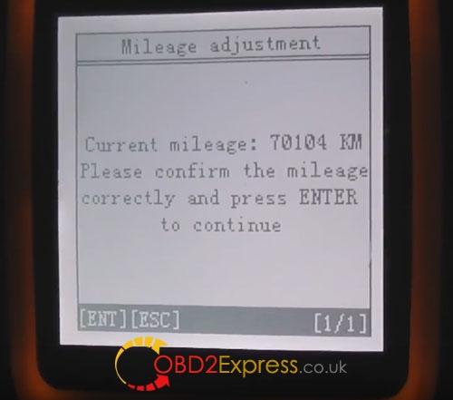 obdstar-x300m-adjust kilométrage-volvo-s80-2008-13
