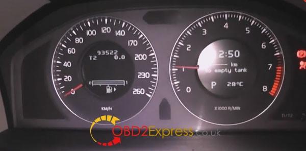 obdstar-x300m-adjust kilométrage-volvo-s80-2008-17