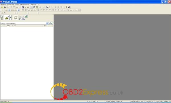 winols-project-start