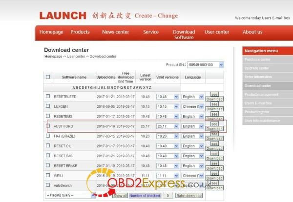 launch x431 v 8inch tablet software 1 600x414 - Launch X431 V 8 inch Car List Download - Launch X431 V 8 inch Car List Download