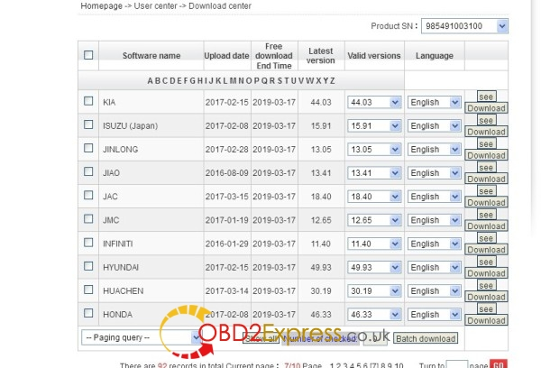 launch x431 v 8inch tablet software 7 600x408 - Launch X431 V 8 inch Car List Download - Launch X431 V 8 inch Car List Download