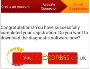 "Register Launch X431 V 8"" Diagnotic Pad (5)"
