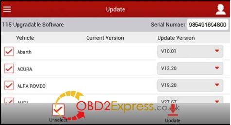 "Register Launch X431 V 8"" Diagnotic Pad (6)"
