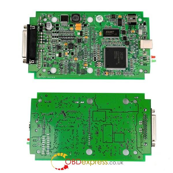 Kess-v2 w wersji online green pcb