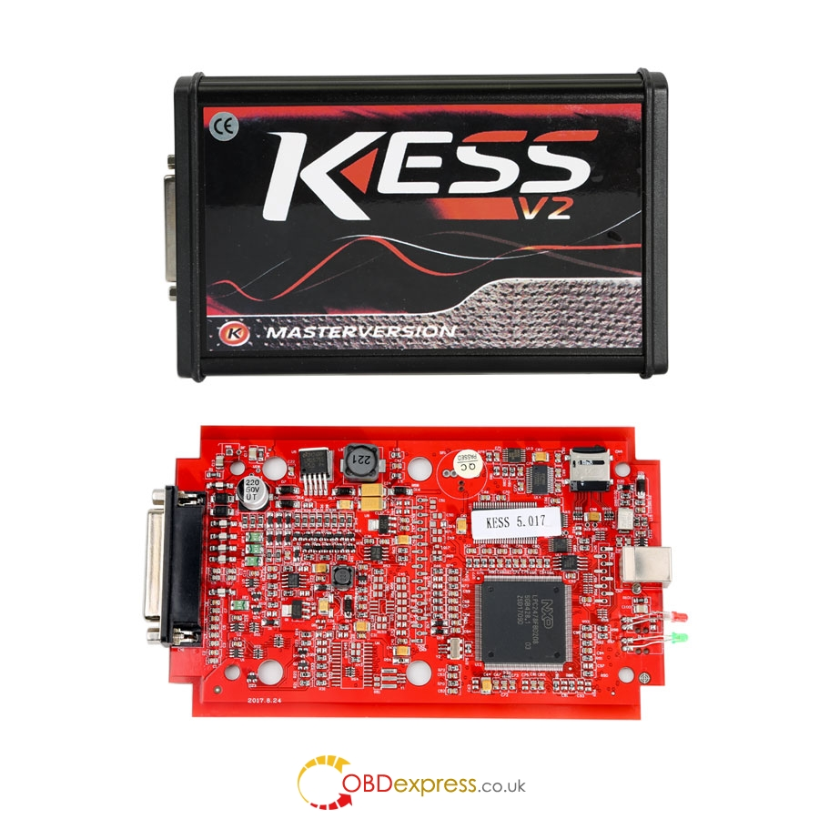 kess v5.017 master eu version red pcb