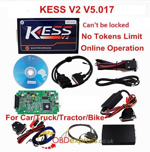 Kess v5.017 Master zielony PCB 02