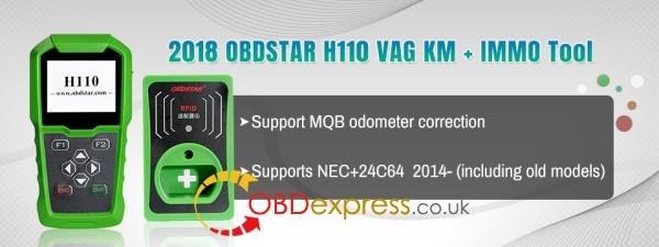 obdstar h110 vag km mqb tool