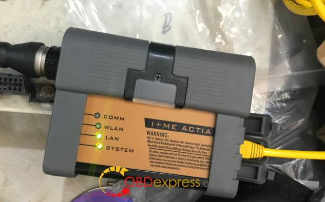 BMW Icom A2 A3 host cant be connected solved(1)