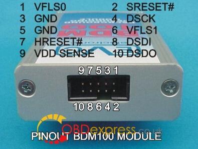 bdm100-pinout