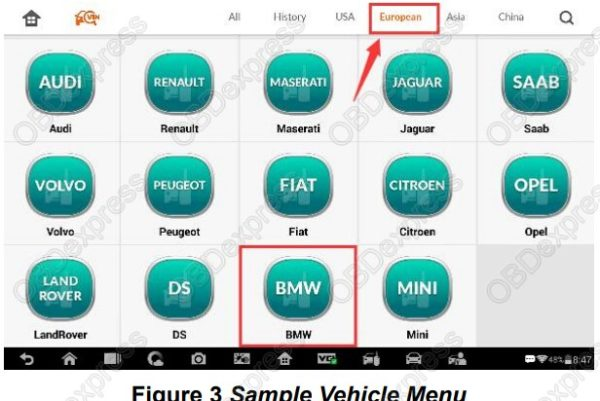 BMW-FEMBDC-Renew-on-Auro-OtoSys-IM100-vehicle-menu-3