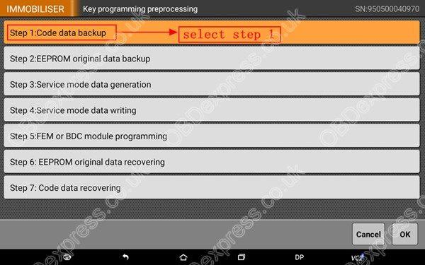 OBDSTAR-X300-DP-BMW-FEM-BDC-Smart-Key-Programming-13