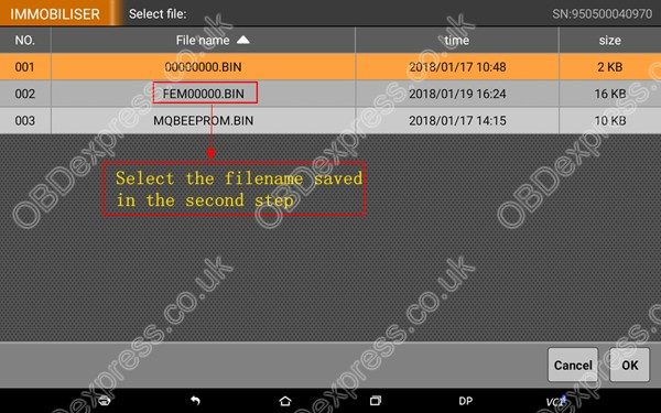 OBDSTAR-X300-DP-BMW-FEM-BDC-Smart-Key-Programming-35