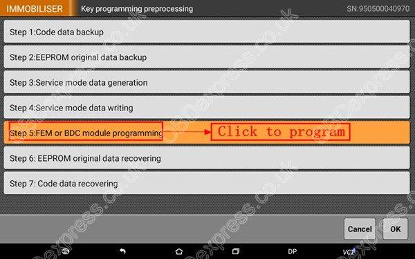 OBDSTAR-X300-DP-BMW-FEM-BDC-Smart-Key-Programming-55
