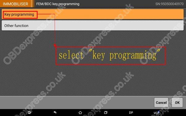 OBDSTAR-X300-DP-BMW-FEM-BDC-Smart-Key-Programming-7