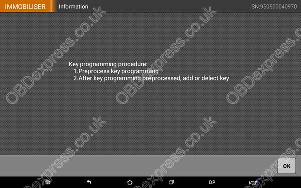 OBDSTAR-X300-DP-BMW-FEM-BDC-Smart-Key-Programming-8