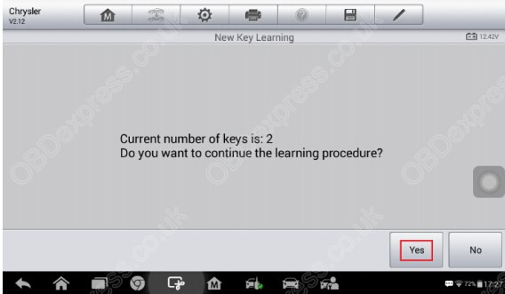 how-to-conduct-2004-2007-Chrysler-Key-Learning-on-IM100-15
