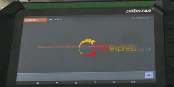 obdstar-x300-DP-zmiana-km-fiat uno-way vdo-