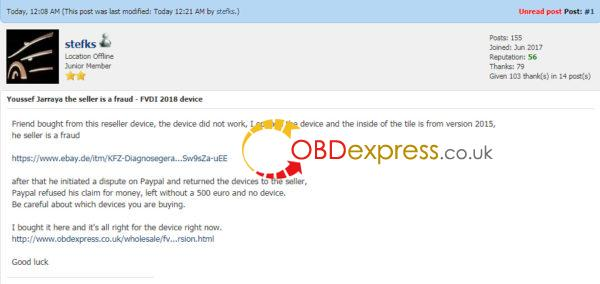 Where to buy a FVDI 2018 device? | OBDexpress co uk Official Blog