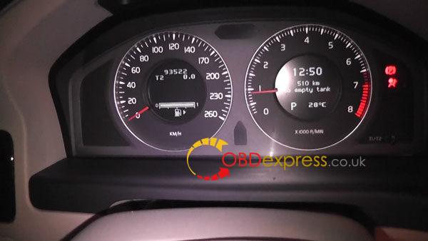 Volvo-s80-change-mileage-by-OBDSTAR-X300M-13