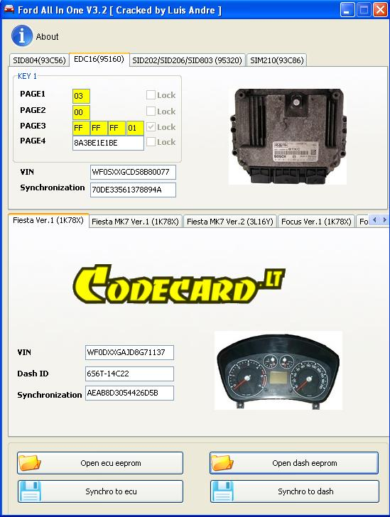 How to use Xprog/CarProg/UPA for Ford key programming