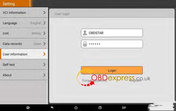 obdstar dp plus registration 07 600x380 - How to Register OBDSTAR X300 DP Plus X300 PAD2 - How to Register OBDSTAR X300 DP Plus X300 PAD2