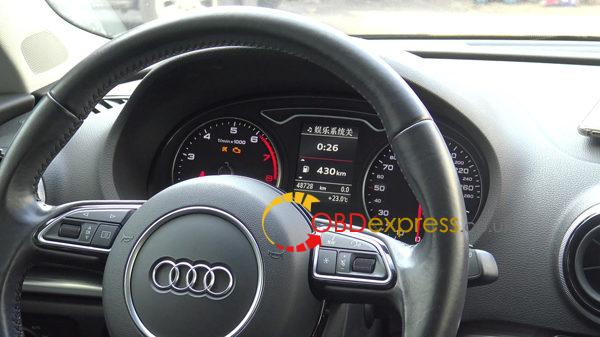 2014 audi a3 mqb odometer correction with obdstar dp plus 01 600x337 - 2014 Audi A3 MQB odometer Reset Odometer With X300 DP PLUS - 2014 Audi A3 MQB odometer Reset Odometer With X300 DP PLUS