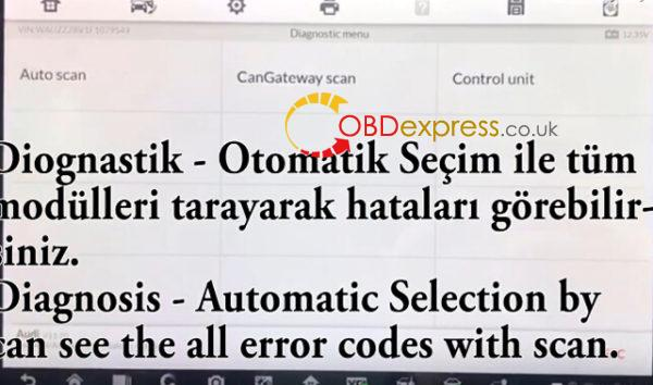Audi A3 Car Error Code Removal with IM608 11 600x354 - Audi A3 2015(F) Error Code Removal With Auro IM600/MAXIIM IM608 - Audi A3 2015(F) Error Code Removal With Auro IM600/MAXIIM IM608