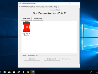 Chinese clone VCM 2 error NO VCM connected