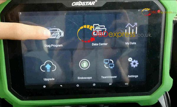 landRover discovery 4 key programming with x300 dp plus 2 600x365 - OBDSTAR X300 DP PLUS Program LandRover Discovery 4 Smart Key All Key Lost