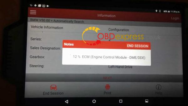 launch x431 how to code e60 bmw 535xi n54 injectors 12