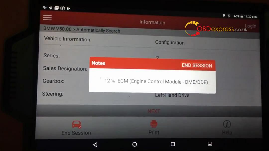 launch_x431_how_to_code_e60_bmw_535xi_n54_injectors-12