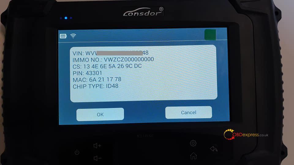 lonsdor-k518s-make-dear-key-on-vw-passat-b7-immo4-magotan-10