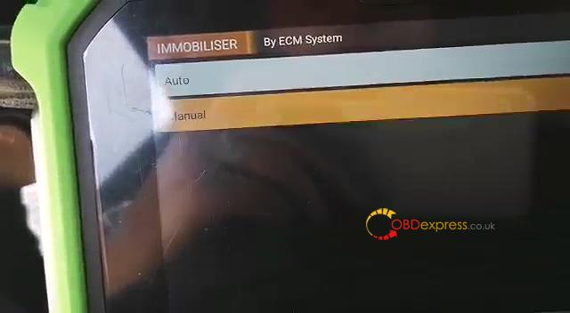 obdstar dp plus program 2000 opel astra g key from ecm 05 - 2000 Opel Astra-G key program from ECM using OBDSTAR X300 DP Plus: perfectly
