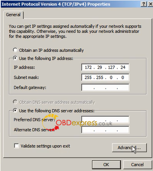 set new ip for sd c4 plus doip 5 - How to set new IP for SD C4 PLUS accessible to Benz DOIP?