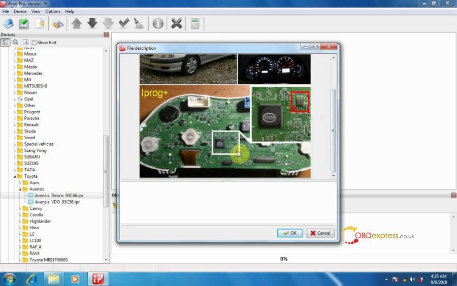 iprog-v76-read-write-km-on-toyota-avensis-12