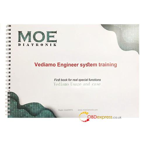 moe diatronic vediamo training book 01 - First Book by Moe Diatronic shows how to use Vediamo Engineer System