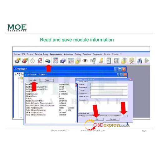 moe diatronic vediamo training book 04 - First Book by Moe Diatronic shows how to use Vediamo Engineer System