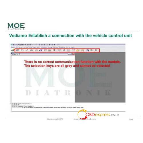 moe diatronic vediamo training book 05 - First Book by Moe Diatronic shows how to use Vediamo Engineer System