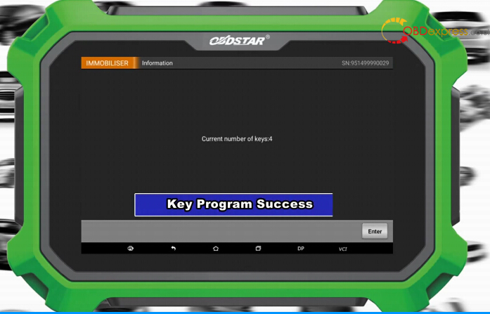 obdstar ford f150 2016 key programming 24 - Ford F150 2016 Key Programming With OBDSTAR DP PLUS, Success!