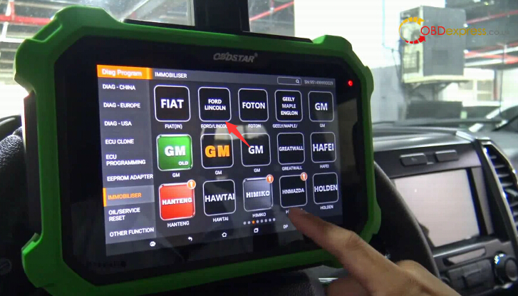 obdstar ford f150 2016 key programming 6 - Ford F150 2016 Key Programming With OBDSTAR DP PLUS, Success!